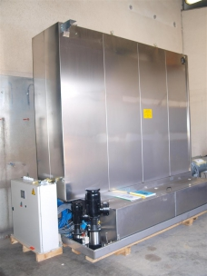 screen washing Zentner new plant